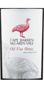 Cape Barren Old Vine Shiraz 2011