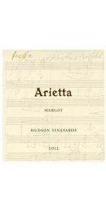 Arietta Hudson Vineyards Merlot 2012