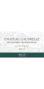 Chateau Gaudrelle Vouvray Sparkling Methode Traditionnelle NV