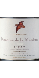 Mordoree Lirac Rouge Dame Rousse 2015