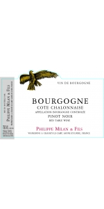 Philippe Milan Bourgogne Rouge Cote Chalonnaise 2016