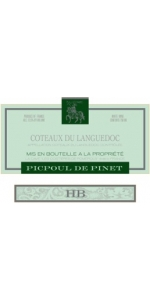 Pomerols Picpoul Pinet H.B. Languedoc 2016