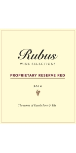 Rubus Proprietary Red Blend Australia 2014