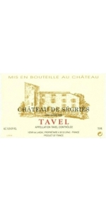 Chateau Segries Tavel Rose 2016