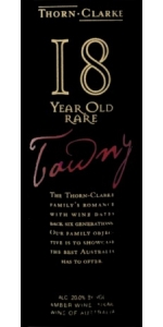 Thorn Clarke 18 year old Rare Tawny Port (500ml)