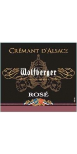 Wolfberger Cremant d Alsace Rose Brut