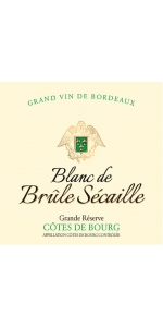 Brulesecaille Cotes de Bourg Blanc Grande Reserve 2019