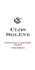 Clos Solene Hommage a nos Pairs Reserve 2018