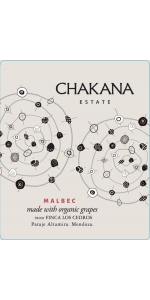 Chakana Finca los Cedros Single Vineyard Malbec 2017
