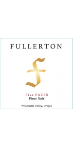 Fullerton Five Faces Pinot Noir 2015