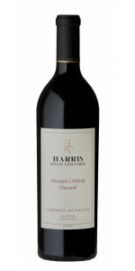 Harris Estate Vineyards Cabernet Sauvignon Missiaens Hillside Vineyard 2013