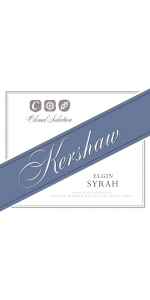 Kershaw Elgin Clonal Selection Syrah 2017
