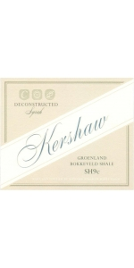 Kershaw Syrah Deconstructed Groenland Bokkeveld Shale SH9c 2016
