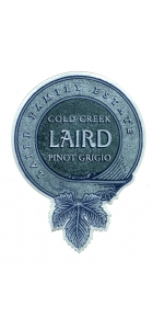 Laird Pinot Grigio Cold Creek 2017