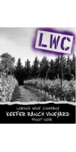 Loring Keefer Ranch Pinot Noir 2012