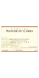 Manoir du Carra Beaujolais-Villages 2018