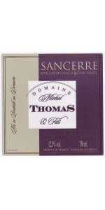 Thomas Sancerre Blanc 2019 (half bottle)