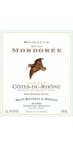 Mordoree Cotes du Rhone Rouge 2018 (half-bottle)