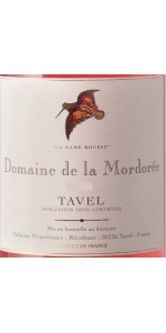 Mordoree Tavel Rose Dame Rousse 2015