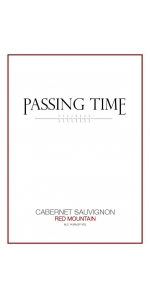 Passing Time Cabernet Sauvignon Red Mountain 2018