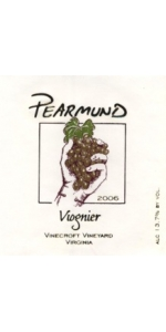 Pearmund Cellars Viognier Vinecroft Vineyard 2017