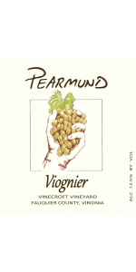 Pearmund Cellars Viognier Vinecroft Vineyard 2018