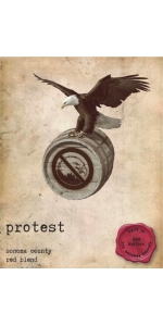 Protest Red Blend Rye Whisky Barrel Aged 2017