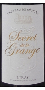 Segries Secret Grange Lirac Rouge 2014 (Magnum)