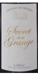 Segries Secret de la Grange Lirac 2016