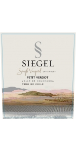 Siegel Single Vineyard Los Lingues Petit Verdot 2017
