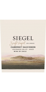 Siegel Single Vineyard Los Lingues Cabernet Sauvignon 2015