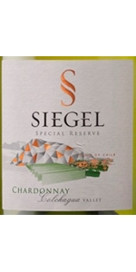 Siegel Special Reserve Chardonnay 2018