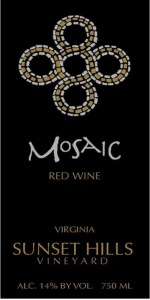 Sunset Hills Mosaic Red Blend 2015