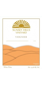 Sunset Hills Viognier 2019