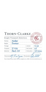 Thorn Clarke Single Vineyard Malbec 2018