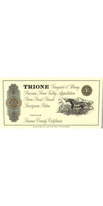 Trione Chardonnay River Road Ranch 2016