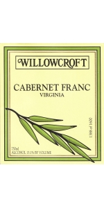 Willowcroft Cabernet Franc 2016