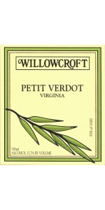 Willowcroft Petit Verdot 2016