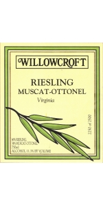Willowcroft Riesling Muscat-Ottonel 2017