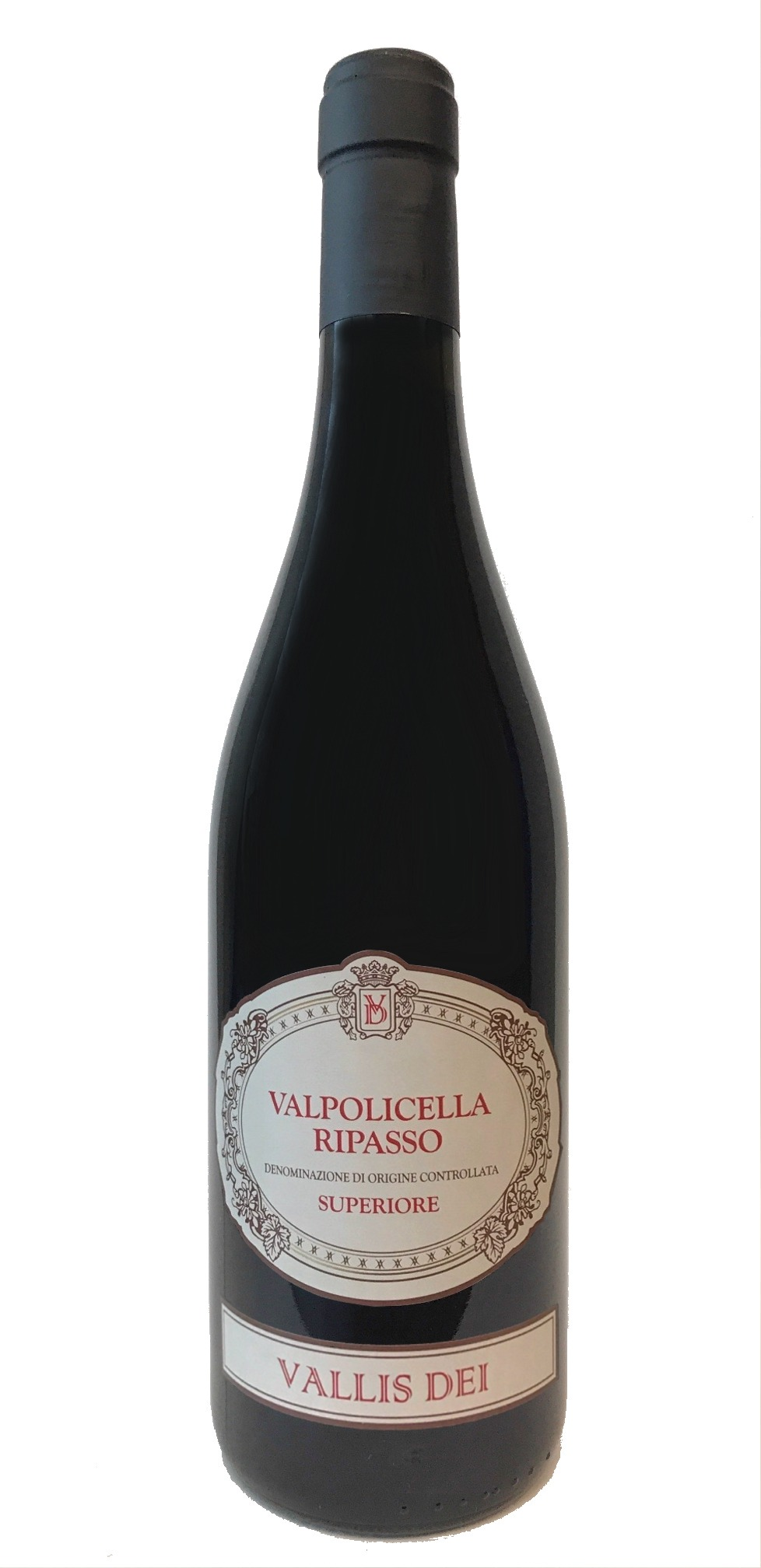Splinternye Cantina di Verona Valpolicella Ripasso Superiore Vallis Dei 2015 IL-87