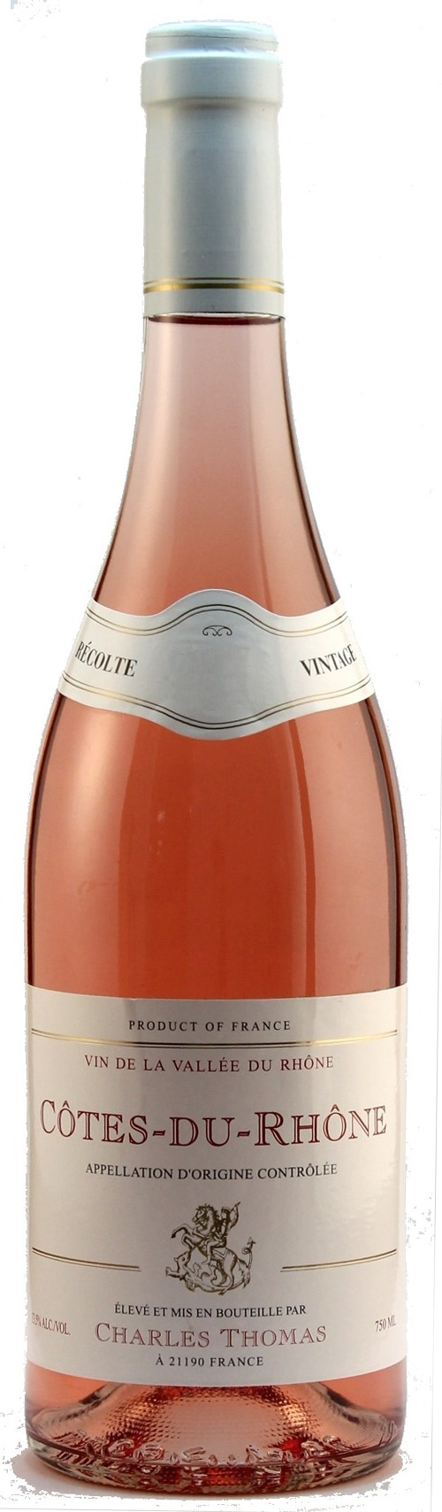 Charles Thomas Cotes Du Rhone Rose 2019 Timeless Wines Order Wine Online From The United States California Wines French Wines Spanish Wines Chardonnay Port Cabernet Savignon