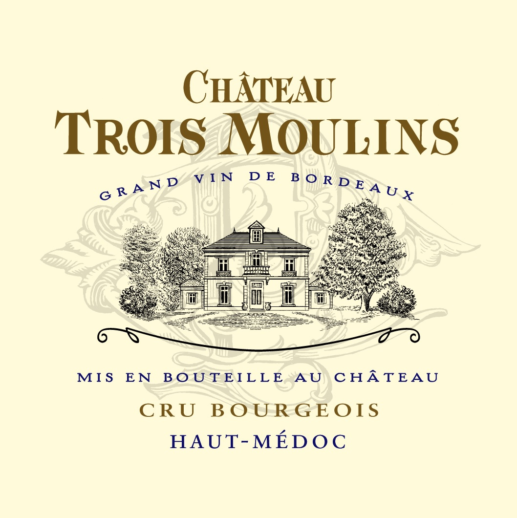 Trois Moulins Haut-Medoc Cru Bourgeois 2015 | Timeless Wines - Order ...